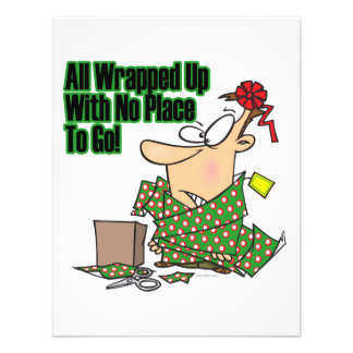 all wrapped up no place to go custom invite