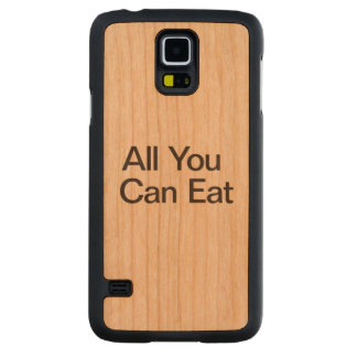All You Can Eat.ai Carved® Cherry Galaxy S5 Slim Case