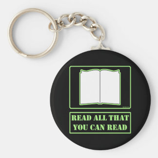 All You Can Read Key Chains