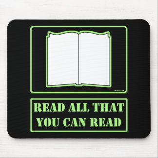 All You Can Read Mousepads