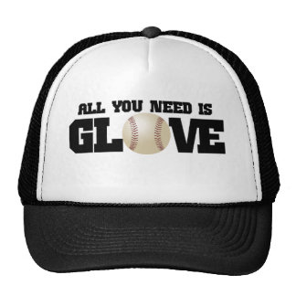 All you need is glove... mesh hat