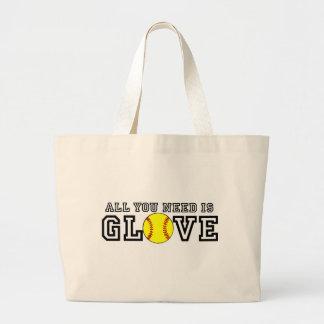 All you Need is Glove! Jumbo Tote Bag