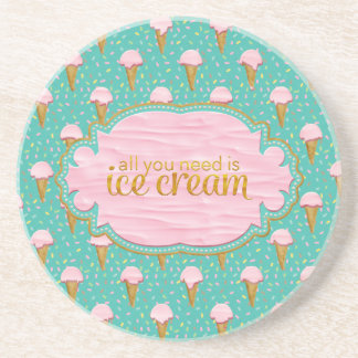 All you need is ice cream coaster