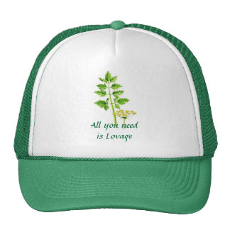 All you need is Lovage Mesh Hats