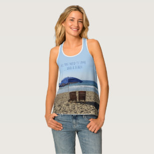 ca0b7861b07899 All you need is Love and a Beach Tank Top