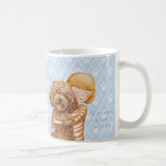 All you need is love and a dog © Sari Ala-Nissilä Coffee Mug