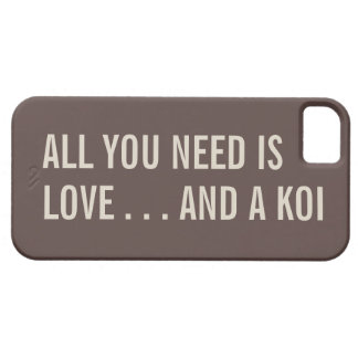 All You Need is Love... and a Koi iPhone 5 Case