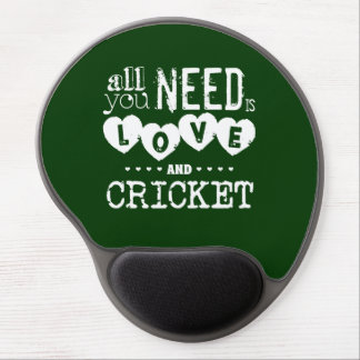 All You Need is Love and Cricket Gel Mouse Mat
