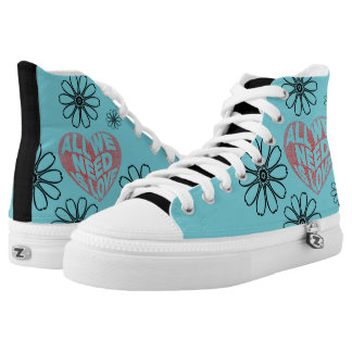 All you need is love high tops