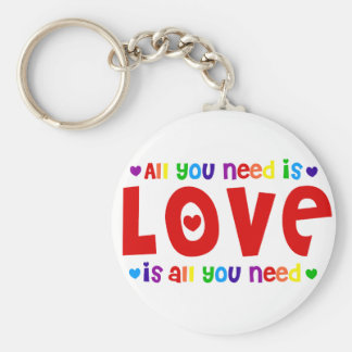 All you Need is Love Key Ring