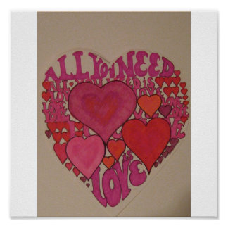 All you need is love! poster