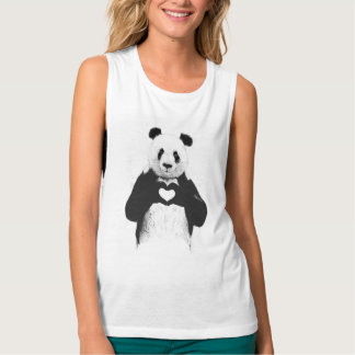 All you need is love tank top