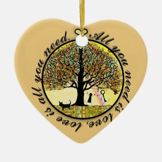 All you need is love tree of life