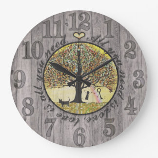 All You Need is Love Wallclock