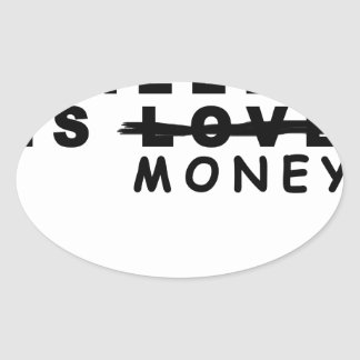 all you need is money shirts png oval sticker