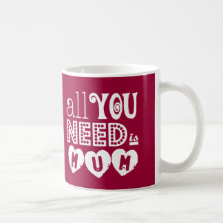 All You Need is Mum Mugs