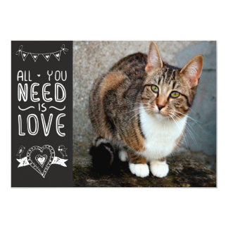 All You Need is Pet Love, Too Card