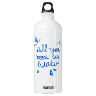 All You Need Is Water SIGG Hot & Cold Bottle