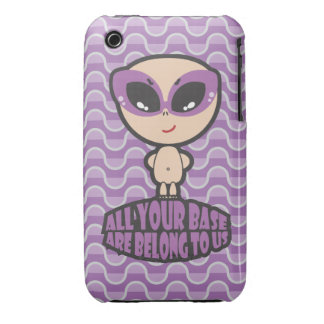 All Your Base Are Belong To Us iPhone 3 Case-Mate Cases