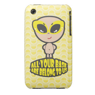 All Your Base Are Belong To Us iPhone 3 Case