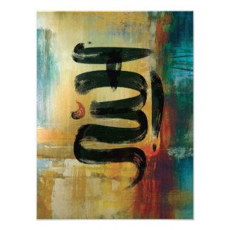 Allah Calligraphy Photo Print