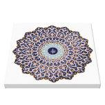 Allah - Islamic Art Stretched Canvas Print