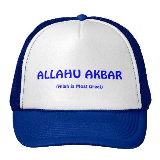 ALLAHU AKBAR Blue Cap Trucker Hat