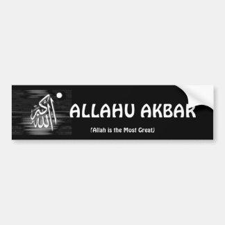 ALLAHU AKBAR Bumper Sticker