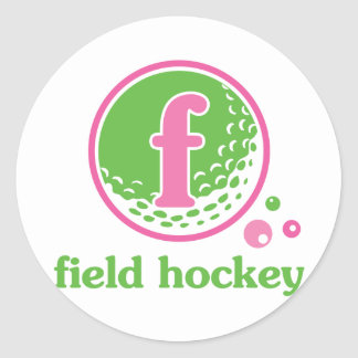 Allaire Field Hockey Classic Round Sticker