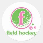 Allaire Field Hockey Sticker