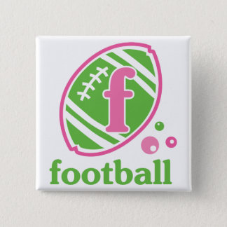 Allaire Football 15 Cm Square Badge