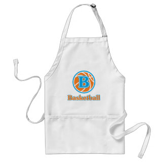 Allaire Orange Basketball Standard Apron