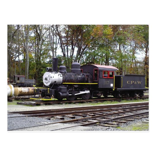 Allaire State Park train Postcard