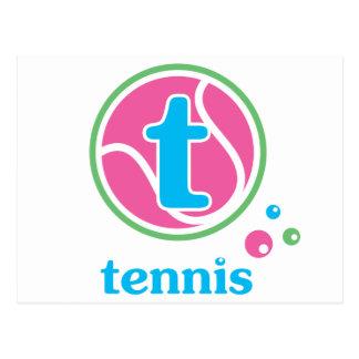 Allaire Tennis Postcard