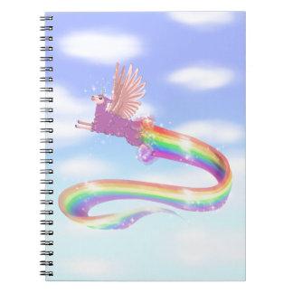Allamacorn Sky Notebook
