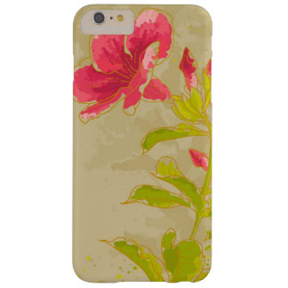 Allamanda Flower On Toned Background Barely There iPhone 6 Plus Case