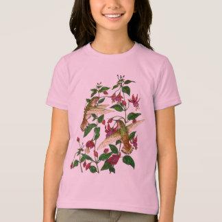 Allan's Hummingbird with Fuschia T-Shirt