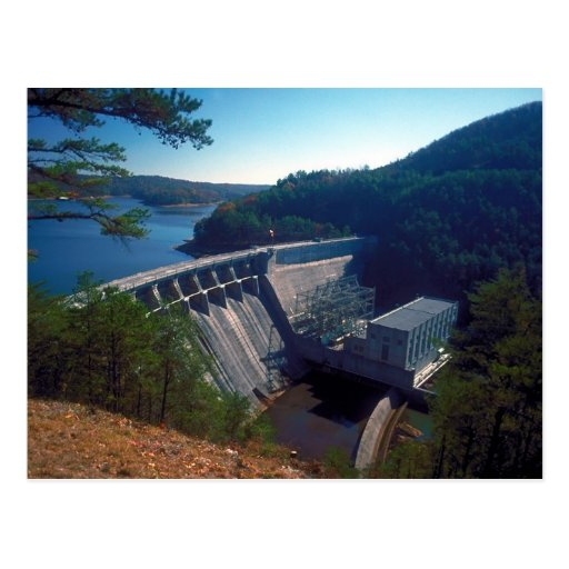Allatoona Dam and Lake Post Card