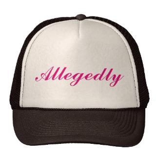 Allegedly Trucker Hat in Black