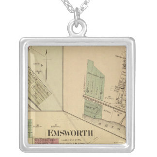 Allegheny County, Pennsylvania Silver Plated Necklace