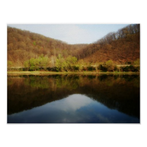 Allegheny Reflection Poster