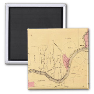 Allegheny River, PA Square Magnet