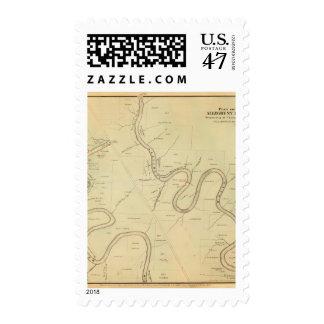 Allegheny River Postage Stamp