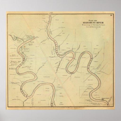 Allegheny River Print