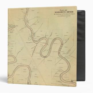 Allegheny River Vinyl Binder