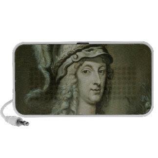 Allegorical Portrait of Queen Christina of Portable Speakers