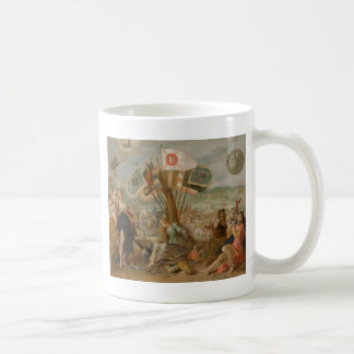 Allegorie on the battle of Gurăslău by Hans Basic White Mug