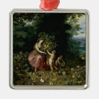 Allegory of Abundance Christmas Ornament