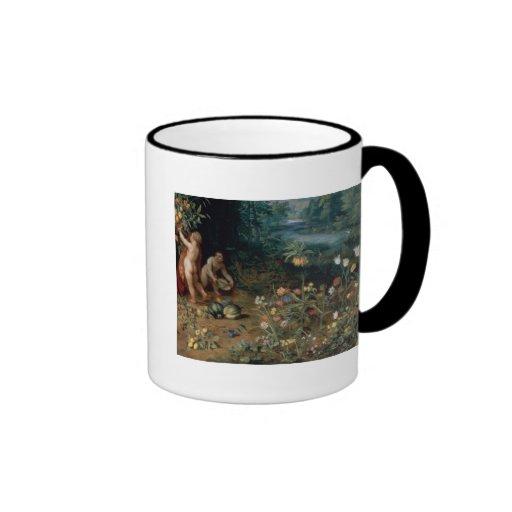 Allegory of Abundance, detail Mug