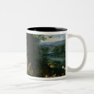 Allegory of Abundance Two-Tone Coffee Mug